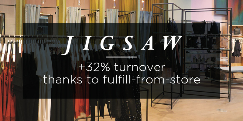 Fulfil from store strategy Jigsaw